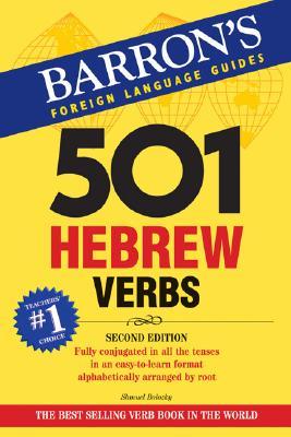 501 Hebrew Verbs By Bolozky, Shmuel